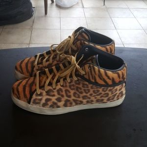 Reebok T-Raw Leopard and Cheetah Sneakers